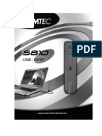 Emtec S810 DVB-T USB adapter User's Manual - English