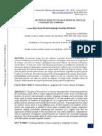 Preparação de Material Didático Para Ensino de Línguas Com Base Em Corpora