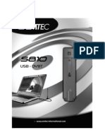 Emtec S810 DVB-T USB adapter User's Manual - Portuguese