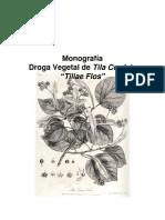 Monografía Tilia Cordata