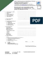 Formulir Daftar Ulang Mahasiswa Baru S2-S3 PPs UNJ