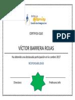 Diploma Cumbre