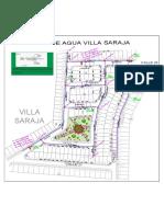 Plano de Red de Agua.villa Sarajadwg-model