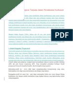 10 Model Pembelajaran Terpadu Dalam Pendekatan Kurikulum