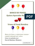 Banco de Frases RO-ES