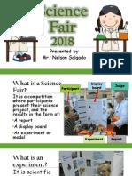 Science Fair Orientation