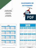 Calendario 2018final