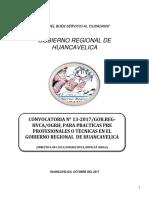 2960176 Bases de La Treceava Convocatoria de Practicas - 2017