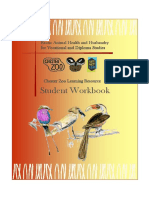 Workbook Exotic Animal Health and Husbandry