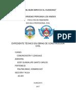 Monografia Final Comunicacion Expedientes Tecnicos