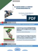 Alcances Sobre La Comisión Intergubernamental  2017