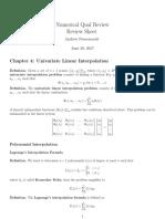 Polynomial and Trigonometric Interpolation
