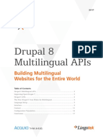 Lingotek eBook Drupal 8 Multilingual APIs 2017