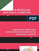 BIOQUIMICA MOLECULAR APLICADA A LA ANESTESIA.pptx