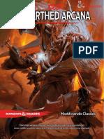 D&D 5E - Unearthed Arcana - Modificando Classes - Biblioteca Élfica