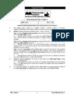 vidyamandir question paper