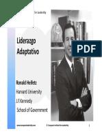 Liderazgo Adaptativo Heifetz PDF