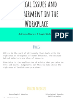 ethical issues and impairment in the workplace