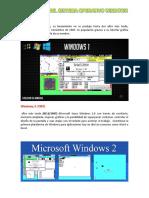 Versiones Del Sistema Operativo Windows 11111