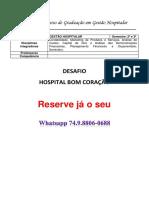 Gestão Hospitalar Unopar - Hospital Bom Coração