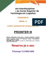 LOG Anhanguera Prointer I e II LOG 3º Série