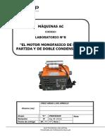 El Motor Monofasico de Fase Partida y de Doble Condensador