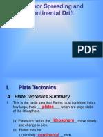 Plate Tectonics & Cont Drift Revised