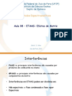 Aula 8 ETAAS - Efeito de Matriz