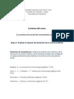 Lecturas Etapa 2