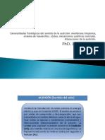 Generalidades Fisiológicas Del Sentido de La Audición