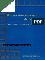 Disec3b1o Sismorresistente de Edificios Escrito Por Luis m Bozzo Rotondo Alex h Barbat
