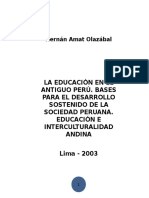 Educación Intercultural Andina