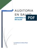 Trabajo 2 - Auditoria en Salud