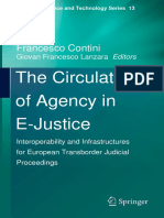 The Circulation of Agency in E Justice Interoperability