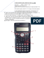 Tutorial Interpolacao Linear Casio Fx-M82s