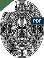 Star Wars Calendario Azteca