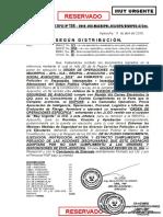 Memorandum Multiple No. 134 - 2018-Viii-macrepol-ica-Aya. Regpol-Aya. Divopus-A. Sec. __ Poner en Ejecución La Orden de Operaciones No. 05 - ___ 05mar2018 - Conflicto Social Ayacucho - 2018