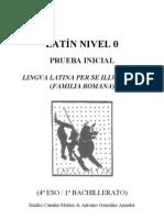 LLPSI Prueba inicial - nivel 0