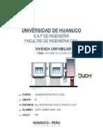 Informe de Abañileria
