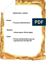 administracion organizacional