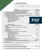 Evaluación de La Fluidez (Cuestionario Profesor (a))