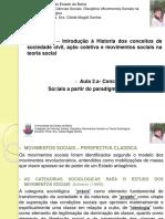 2018.1 Aula 2- Conceito de Movimentos Sociais a Partir do Paradigma Marxista Clássico