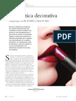 Artículo Cosmetica decorativa