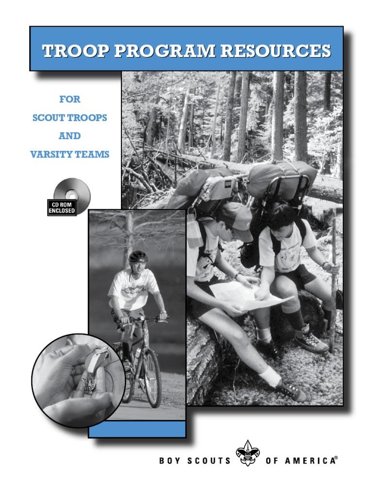 Troop Program Resources Exploracion Boy Scouts De Ee Uu