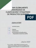 Sistema Globalmente Armonizado de Clasificacion y Etiquetado de 46764