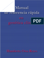 Manual de Referencia Rapida en Genetica Clinica