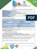Guía de actividades y rubrica de evaluacion Fase 3- Elaborar planificación y formulación del proyecto