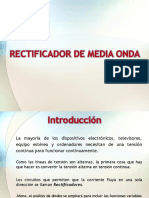 Rectificador de Media Onda