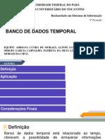 Banco de Dados Temporalver