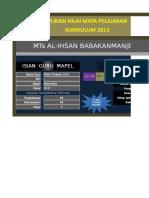 Aplikasi Nilai MAPEL Kelas 7 D